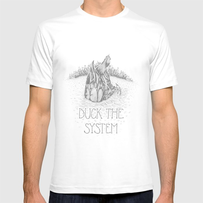 Duck the system T-shirt