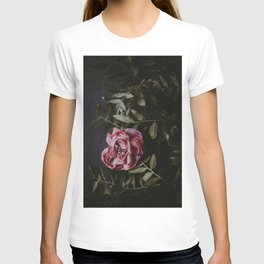 Dark Pink Rose (Color) T-shirt