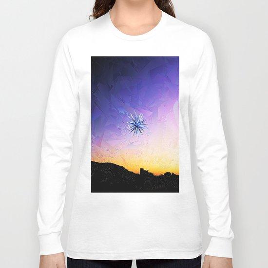 Star Over Bethlehem Abstract Long Sleeve T-shirt