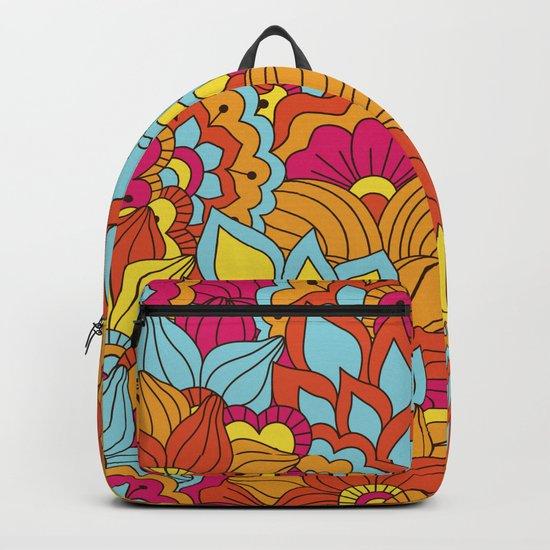 Shabby flowers #19 Backpack