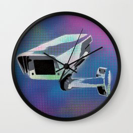 WATCH YOUR STEP 16 Wall Clock