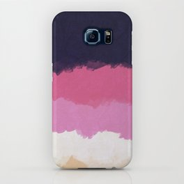 Abstract Sunset Sky Blush iPhone Case