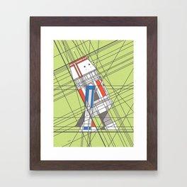 R5D4 Deco Droid Framed Art Print