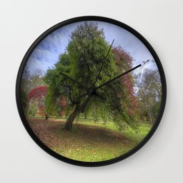Waiting for Fall Wall Clock