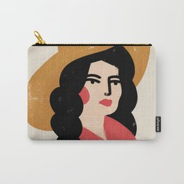 Abstract Cowgirl Carry-All Pouch
