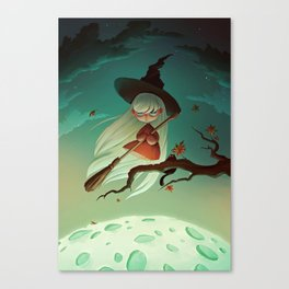Halloween witch  Canvas Print