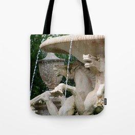 HORSES WATER FOUNTAIN Tote Bag