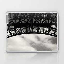 Black Lace of Eiffel Tower Laptop & iPad Skin