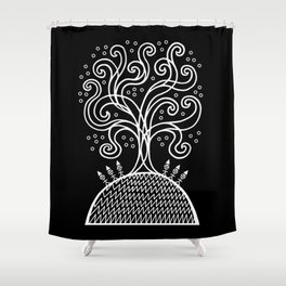 The Rite of Spring Shower Curtain