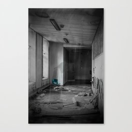 A Ghostly Apparition Canvas Print