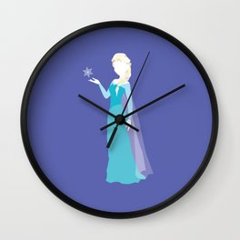 Elsa from Frozen Wall Clock