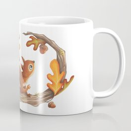 Squirrel and the autumn meal Coffee Mug