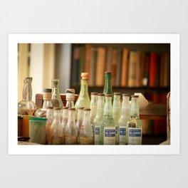 bottle love Art Print