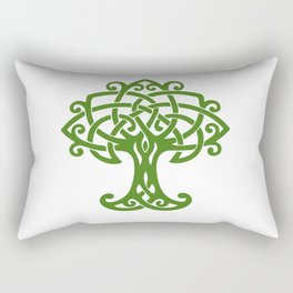 Tree Of Life Celtic Art Knot Rectangular Pillow