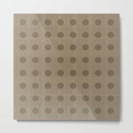 """Dots Nature II"" Metal Print"