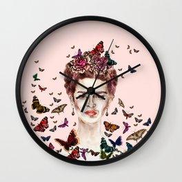 Frida Kahlo - Mexico Wall Clock