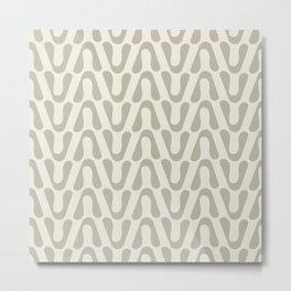 Directions Small in Tan Metal Print