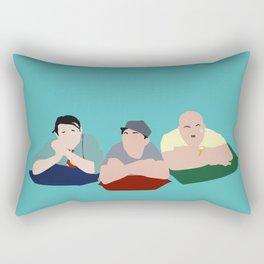 Kidnapping Caucassian Style Rectangular Pillow