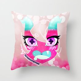 Junko's Big Debut Throw Pillow
