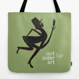 Outsider Art Fair 2018 Tote Bag