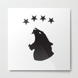 R&M Starhead Metal Print