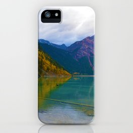 Kinney Lake in Mount Robson Provincial Park, BC / Canada iPhone Case