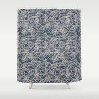 lanterns Shower Curtains featuring Lanterns by Let it Rain