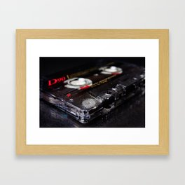 The B Side Framed Art Print