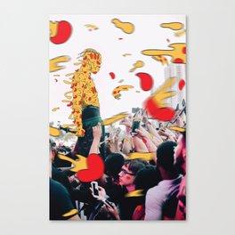XXXpizza Canvas Print
