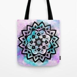 Twilight Mandala Tote Bag
