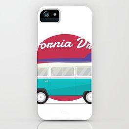 California Dream Bus iPhone Case