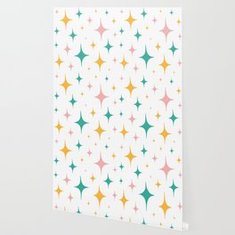 Sparkly stickers Wallpaper
