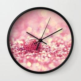 Drip drop Wall Clock