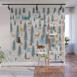 little nature woodland Wall Mural