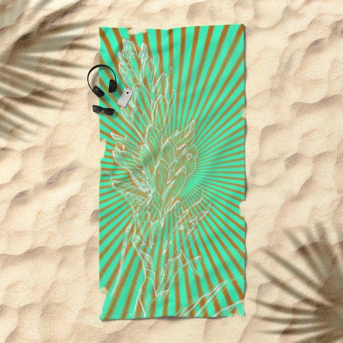 In the Sunbeams Beach Towel