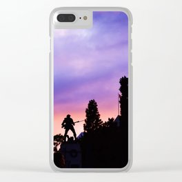 Shot in Color Clear iPhone Case