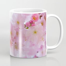 Pink Cherry Blossoms Coffee Mug