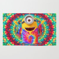 minion Area & Throw Rugs featuring Minion by DisPrints