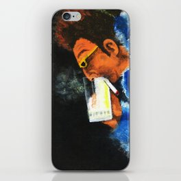 """""""HERE'S TO FEELIN' GOOD ALL THE TIME"""" iPhone Skin"""