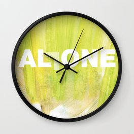 SUNDAYS ARE FOR SOULMATES / ALL ONE Wall Clock