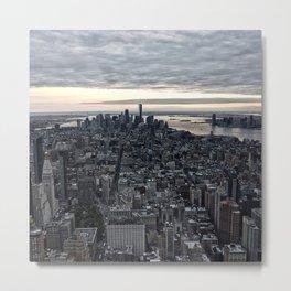 New York skyline x Metal Print