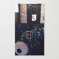 drums Canvas Prints featuring Drums by Tanya Bhargava