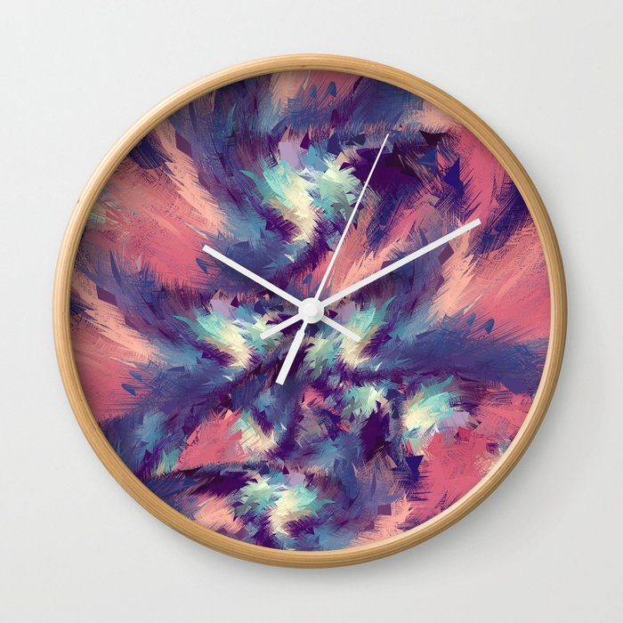 Colorful Energy Wall Clock