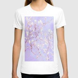 Vincent Van Gogh Almond Blossoms  Lavender T-shirt