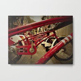 bicing Metal Print