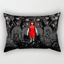 Girl N the Hood Rectangular Pillow
