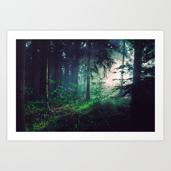 Wayward Wilderness Art Print