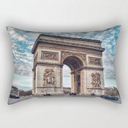 Arc De Triomphe - Paris Rectangular Pillow