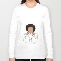 princess leia Long Sleeve T-shirts featuring Princess Leia by Blancamccord