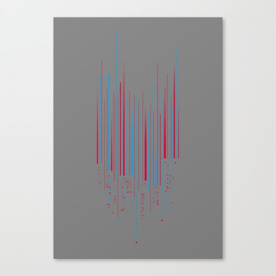 Urban Oscillations Canvas Print